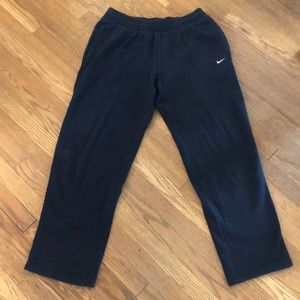 Men's Nike black sweatpants
